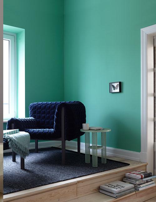 Peter Fehrentz interiordesign photography Innenarchitektur Fotografie Design Möbeldesign Furnituredesign alpina feine farben mint green butterfly decoration