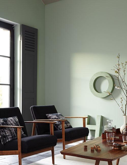 Peter Fehrentz interiordesign photography Innenarchitektur Fotografie Design Möbeldesign Furnituredesign Alpina feine Farbe Wohnzimmer midcentury teak