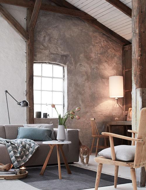 Peter Fehrentz interiordesign photography Innenarchitektur Fotografie Design Möbeldesign Furnituredesign Schöner Wohnen country modern living room sofa earthy colors cat light