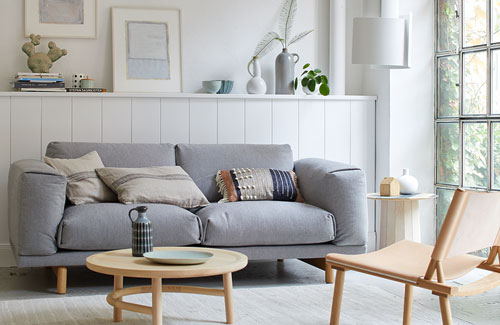 Peter Fehrentz interiordesign photography Innenarchitektur Fotografie Design Möbeldesign Furnituredesign Schöner Wohnen scandinavia scandi sofa living room lamp nature white
