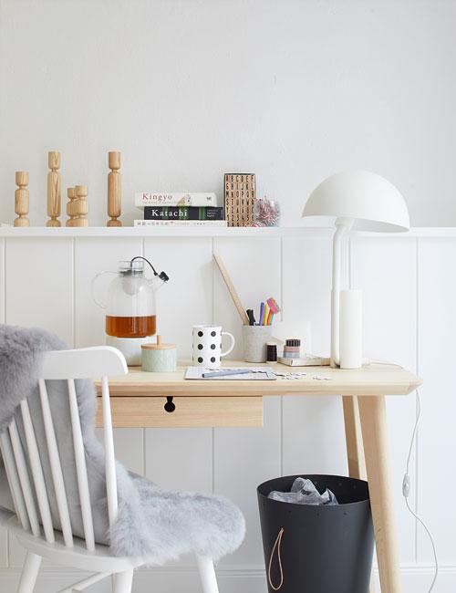 Peter Fehrentz interiordesign photography Innenarchitektur Fotografie Design Möbeldesign Furnituredesign Schöner Wohnen scandinavia scandi desk lamp nature white