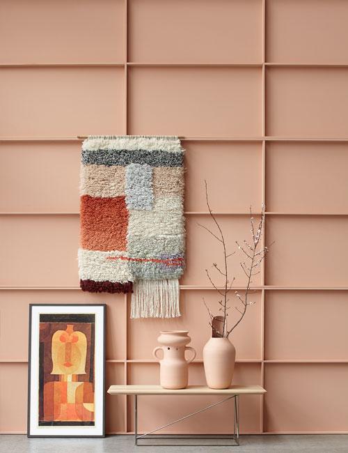 Peter Fehrentz interiordesign photography Innenarchitektur Fotografie Design Möbeldesign Furnituredesign Schöner Wohnen terracotta wallcarpet vases