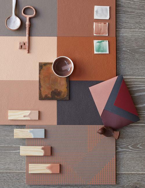 Peter Fehrentz interiordesign photography Innenarchitektur Fotografie Design Möbeldesign Furnituredesign Schöner Wohnen terracotta collage tiles