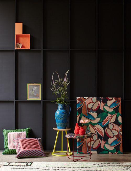 Peter Fehrentz interiordesign photography Innenarchitektur Fotografie Design Möbeldesign Furnituredesign Schöner Wohnen grey and color collage