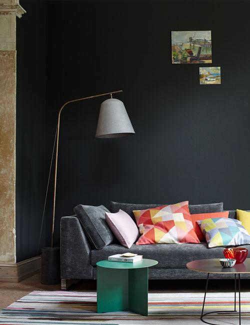 Peter Fehrentz interiordesign photography Innenarchitektur Fotografie Design Möbeldesign Furnituredesign Schöner Wohnen grey and color Sofa colors