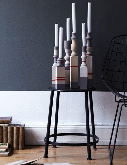 Peter Fehrentz interiordesign photography Innenarchitektur Fotografie Design Möbeldesign Furnituredesign diy made by yourself decoration candles candleholder grey