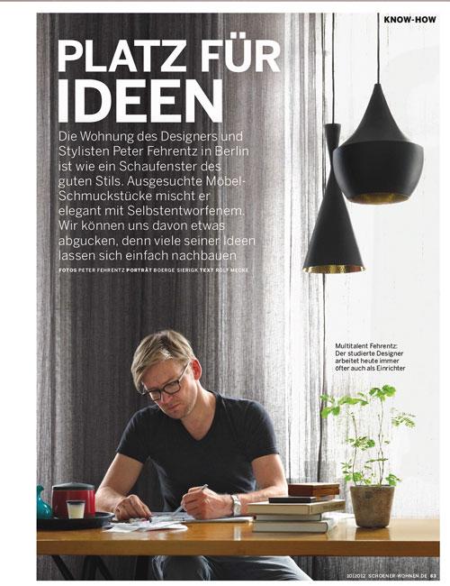 Peter Fehrentz interiordesign photography Innenarchitektur Fotografie Design Möbeldesign Furnituredesign Berlin apartment papabear midcentury