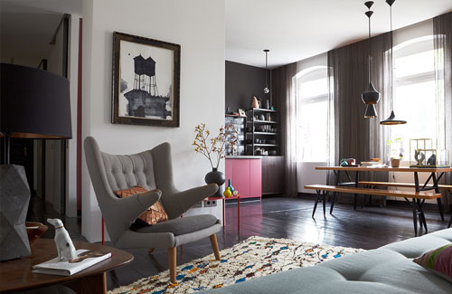 Peter Fehrentz interiordesign photography Innenarchitektur Fotografie Design Möbeldesign Furnituredesign Berlin apartment papabear midcentury