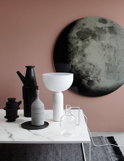 Peter Fehrentz interiordesign photography Innenarchitektur Fotografie Design Möbeldesign Furnituredesign Schöner Wohnen minimal diesel living vases marble pink walls