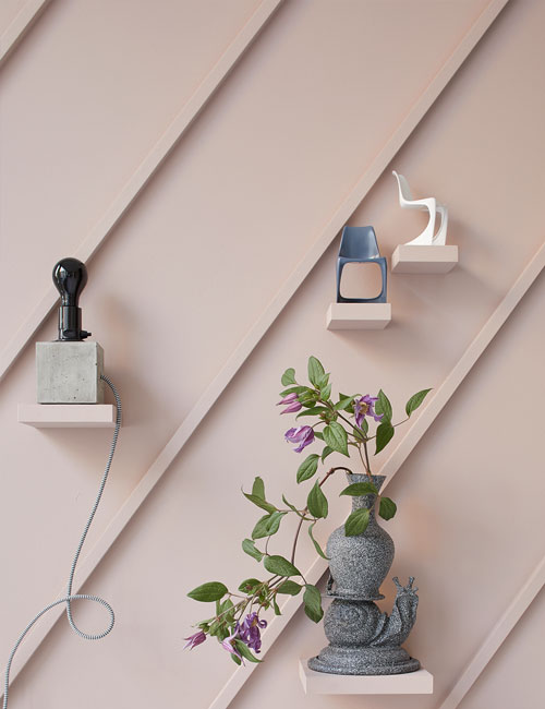 Peter Fehrentz interiordesign photography Innenarchitektur Fotografie Design Möbeldesign Furnituredesign Schöner Wohnen pink wall collage