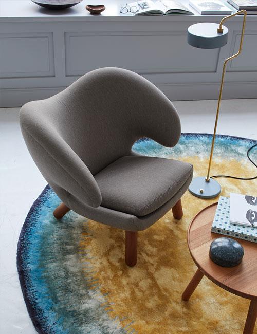 Peter Fehrentz interiordesign photography Innenarchitektur Fotografie Design Möbeldesign Furnituredesign Schöner Wohnen finn juhl pelikan bretz carpet