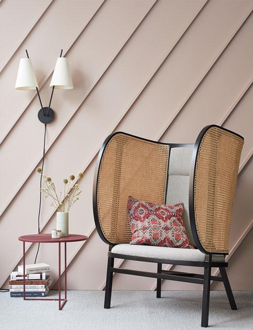 Peter Fehrentz interiordesign photography Innenarchitektur Fotografie Design Möbeldesign Furnituredesign Schöner Wohnen pink wall gebrüder thonet vienna petite friture