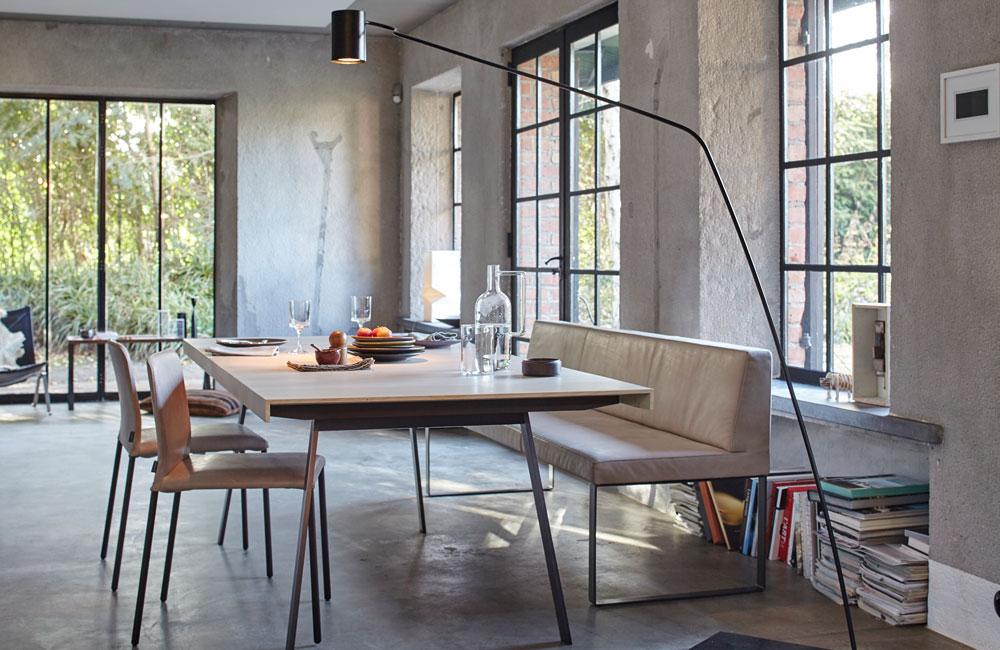 Peter Fehrentz interiordesign photography Innenarchitektur Fotografie Design Möbeldesign Furnituredesign Windows Indusrial concrete-diningroom