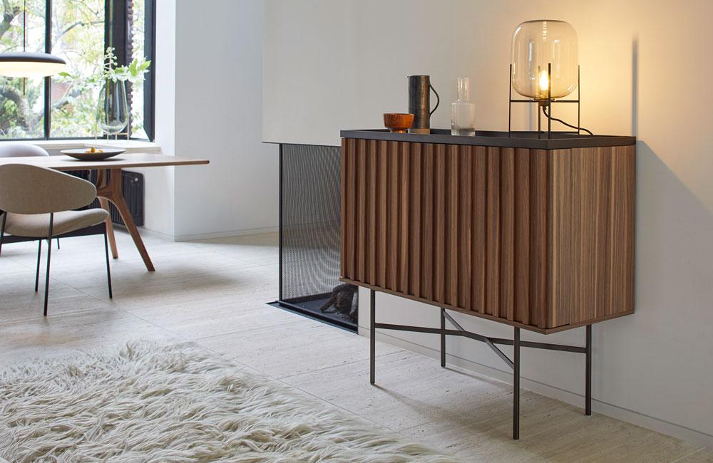 Peter Fehrentz interiordesign photography Innenarchitektur Fotografie Design Möbeldesign Furnituredesign More Bar Cabinet Housebar Harri American Walnut