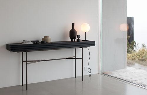 Peter Fehrentz interiordesign photography Innenarchitektur Fotografie Design Möbeldesign Furnituredesign More Konsole Console Harri black stained ash esche