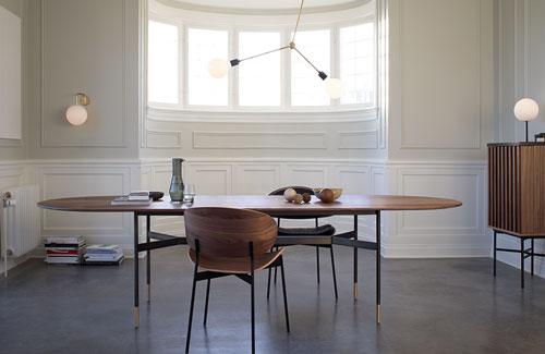 Peter Fehrentz interiordesign photography Innenarchitektur Fotografie Design Möbeldesign Furnituredesign More Dining Table Esstisch Walnuss Harri American Walnut